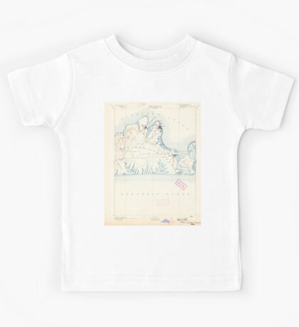 Massachusetts  USGS Historical Topo Map MA Marthas Vineyard 352836 1894 62500 Kids Tee