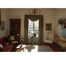 Stagecoach sitting room Photographic Print