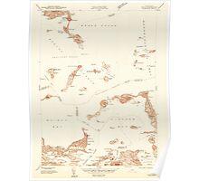 Massachusetts  USGS Historical Topo Map MA Hull 350216 1944 24000 Poster