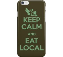 Eat Local iPhone Case/Skin