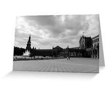 Plaza de España, Sevilla, Spain  Greeting Card