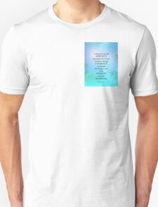 Serenity Prayer September Sky T-Shirt