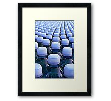 Ocean Whitecaps Framed Print