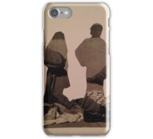 Accidental Dali Collage. iPhone Case/Skin