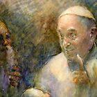 Francesco in the making by Lorenzo Castello