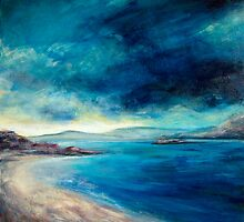 Morar bay by Fee Dickson