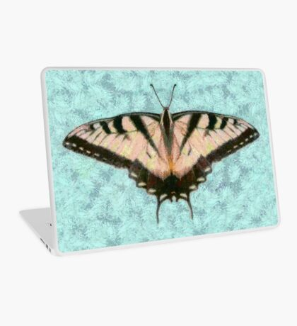 BUTTERFLY IS HAPPINESS PURSUED Laptop Skin