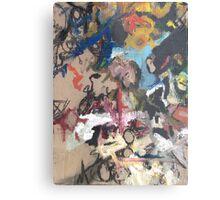 Non-Representational Art Hurts My Brain Metal Print
