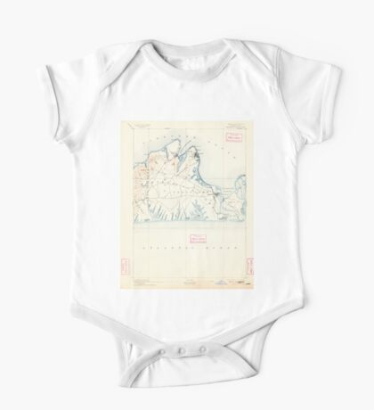 Massachusetts  USGS Historical Topo Map MA Marthas Vineyard 352839 1894 62500 One Piece - Short Sleeve