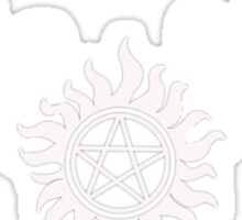 Supernatural Non Timebo Mala Sticker