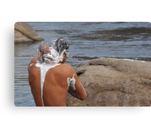 River Cleansing Canvas Print