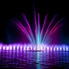 Fountain at night by Dfilyagin
