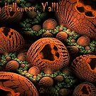 Happy Halloween Card by wolfepaw