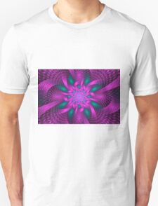 Purple and Green Unisex T-Shirt