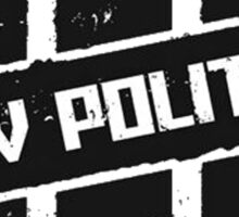 New Politics Sticker
