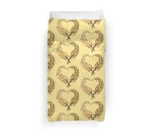 Feather heart Duvet Cover