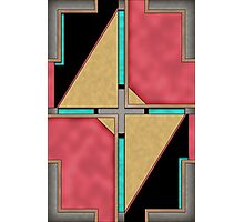 Quad - Geometric Abstract Design Photographic Print