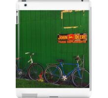 Old Farm Bicycles iPad Case/Skin