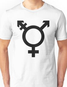 Transgender symbol Unisex T-Shirt