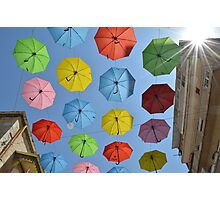 Umbrella Display Print Photographic Print
