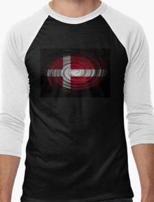 Denmark Twirl Men's Baseball ¾ T-Shirt