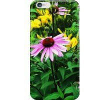 Purple Cone Flowers - Echinacea iPhone Case/Skin