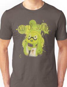 Splatoon Inspired: Squid or Kid Unisex T-Shirt