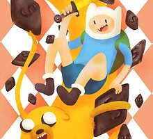Adventure Time with salty liquorice by elizakaze