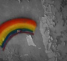 Rainbow Graffiti by Brittani Getch