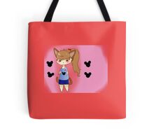 Candy The Neko Micky Mouse Loving Nerd Tote Bag