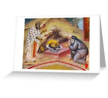 The Head of St John by Pierre Blanchard Greeting Card