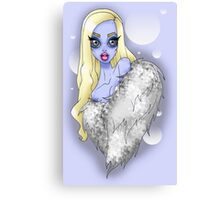 Abominable Show-Babe Canvas Print