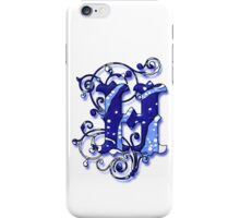 Surfin' Waves Alpha 'H' iPhone Case/Skin