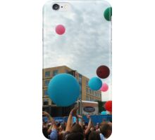 Summer Outdoor Concert Balloons iPhone Case/Skin