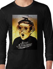 JESUS ASTRONAUT BEER GOGGLES Long Sleeve T-Shirt