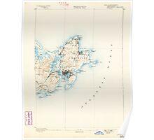 Massachusetts  USGS Historical Topo Map MA Gloucester 352699 1893 62500 Poster