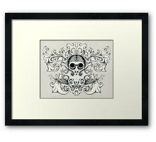 Sugar Squid Framed Print