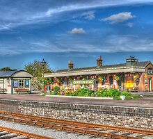 Quainton Road Railway Station by Chris Thaxter