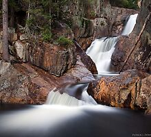 Smalls Falls - Landscape View by Patrick Downey