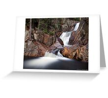 Smalls Falls - Landscape View Greeting Card
