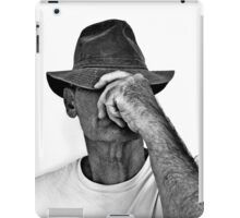 TOM WITH HAT iPad Case/Skin