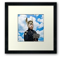 Ulysses S. Grant + Thor Mashup Framed Print
