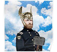 Ulysses S. Grant + Thor Mashup Poster