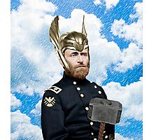 Ulysses S. Grant + Thor Mashup Photographic Print