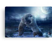 Fighting for What's Left Canvas Print