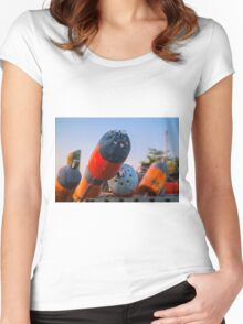 0052 Women's Fitted Scoop T-Shirt
