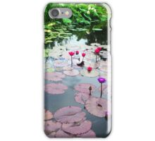 Lily Pad Reflections iPhone Case/Skin