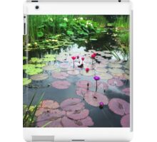 Lily Pad Reflections iPad Case/Skin