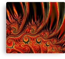 Something's Burning! Canvas Print