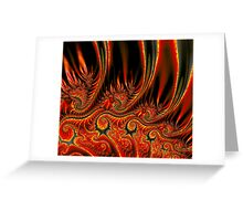 Something's Burning! Greeting Card